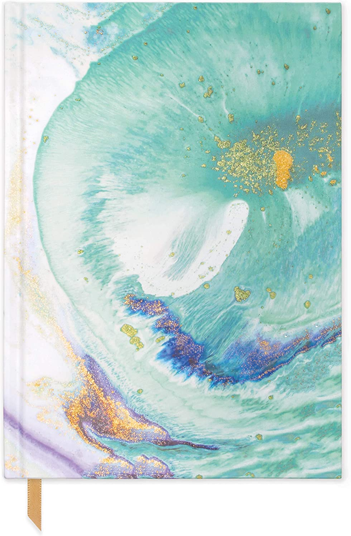 DesignWorks Ink Exposed Spine Flexible Notebook Set Watercolor