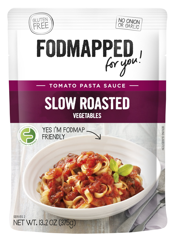 FODMAPPED - Low FODMAP Slow Roasted Vegetables Pasta Sauce 13.2OZ (375g)