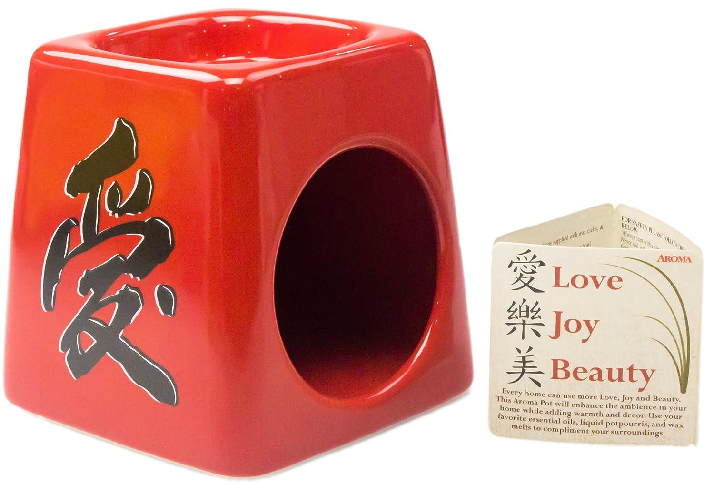 ビーコンStreets zen-like液体Potpourri Simmerポット。ストレスの軽減、追加Beauty &アロマをホーム。魅力的なセラミックWarmer creates calm Fragrances。Works WithワックスTart Melts & Essential Oilすぎます。 B0722PJ8Z5