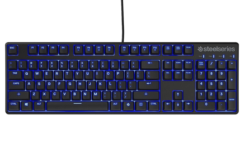SteelSeries Apex M400, Teclado para Juego, mecánico, con retroiluminación Azul, (PC/Mac) - Disposición Nórdico QWERTY: Amazon.es: Informática