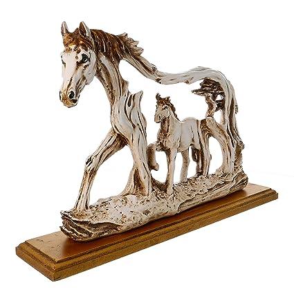WebelKart JaipurCrafts Handcrafted Horse Showpiece Garden Statue Outdoor  Collectibles Figurines Showpiece Statue Items For Living Room