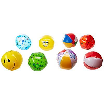 "Rhode Island Novelty 16"" Beach Ball Assortment - 25 Pack: Toys & Games"