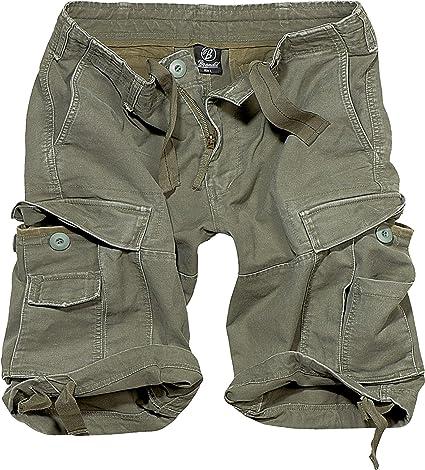 TALLA 6XL. Brandit Vintage Shorts Basic Pantalones Cortos para Hombre