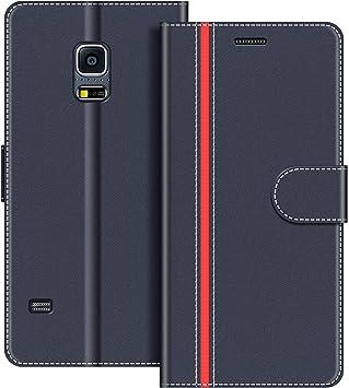 COODIO Funda Samsung Galaxy S5 Mini con Tapa, Funda Movil Samsung ...