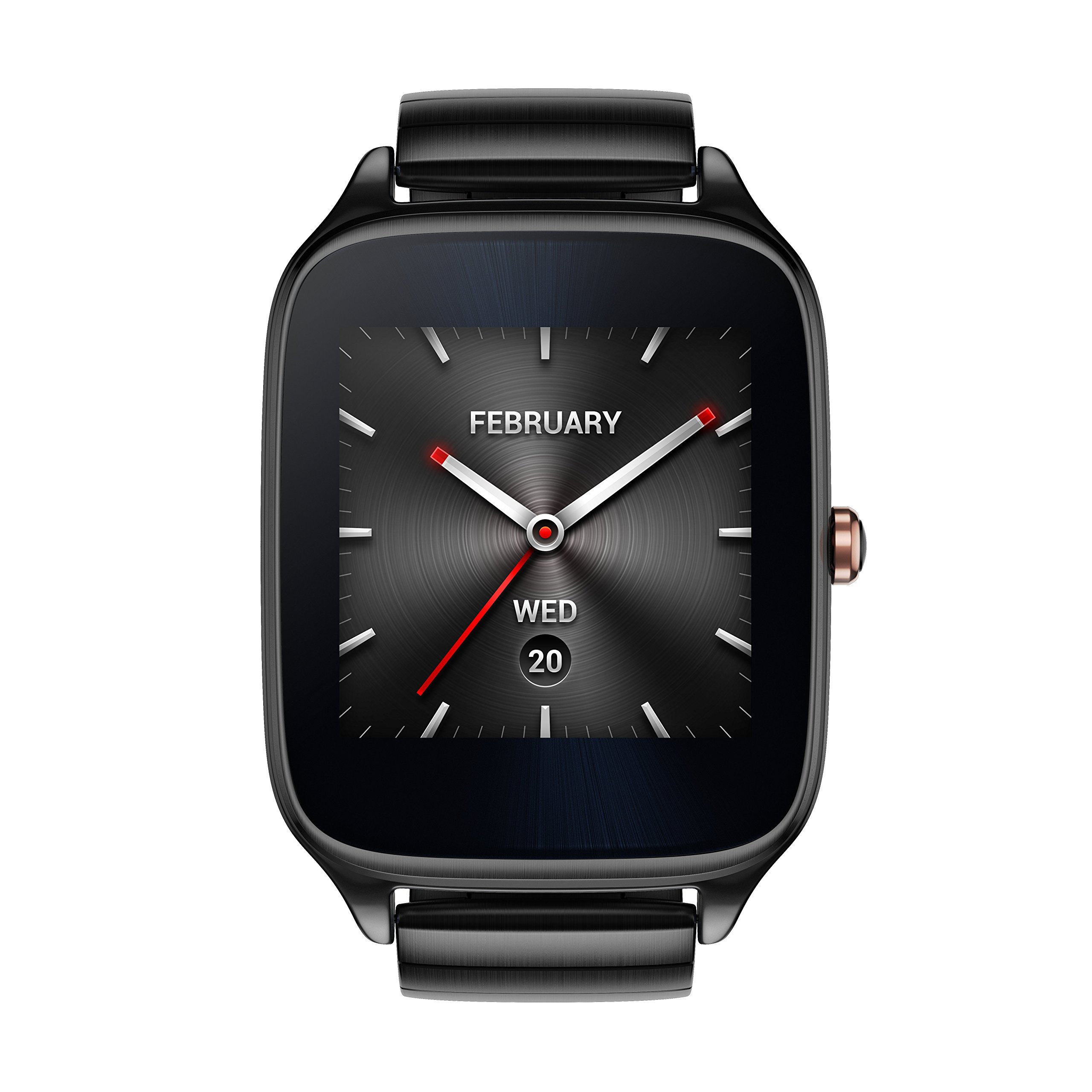 ASUS ZenWatch 2 Gunmetal Gray 41mm Smart Watch with HyperCharge Battery, 1.63-inch AMOLED Gorilla Glass 3 TouchScreen, 4GB Storage, IP67 Water Resistant by Asus