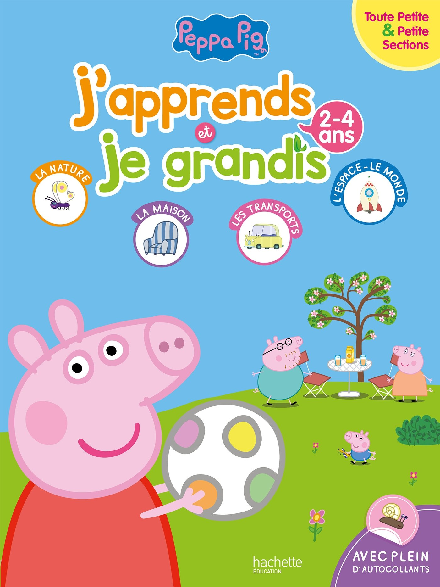 J Apprends Et Je Grandis Tps Ps 2 4 Ans Peppa Pig Amazon Co Uk