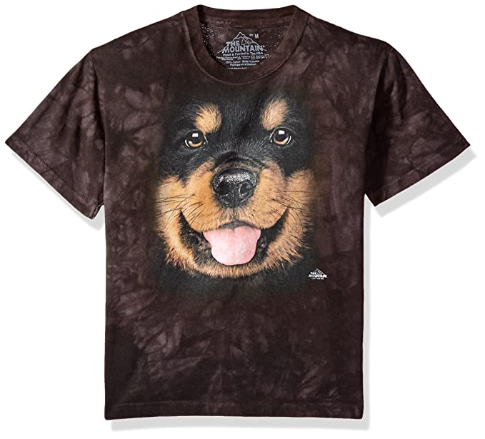 Amazoncom The Mountain Little Kids Bf Rottweiler Puppy Tee Clothing