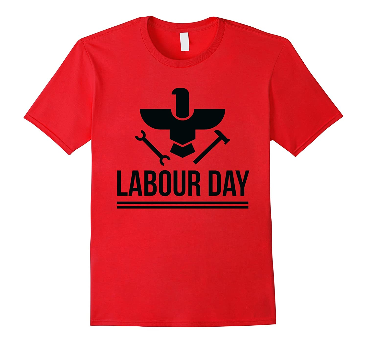 Labour Day With Hammer and Wrench Tee Shirt-BN
