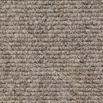 carpet with rubber marine backing brown 6u0027 x 10u0027