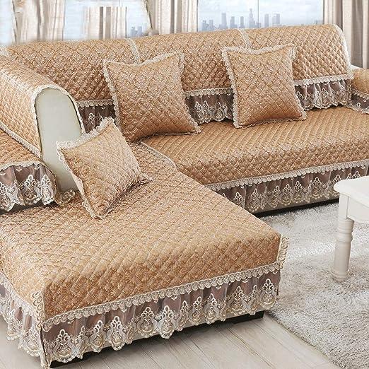 Cojín de sofá Europeo Tejido Antideslizante Funda de sofá ...