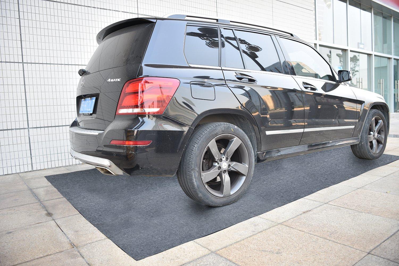 Garage Floor Mat (18' x 7'6''), Absorbent/Waterproof/Lightweight/Washable Garage & Shop Parking Mats by KALASONEER (Image #2)