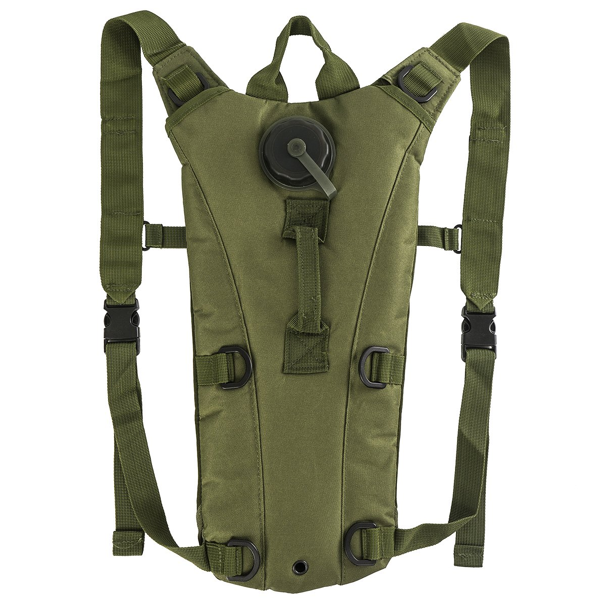 3l Tactical Hydration Pack軽量膀胱水ポーチバックパックハイキング、狩猟、サイクリング、ランニング、ウォーキングや登山  グリーン B01LWPFA1W