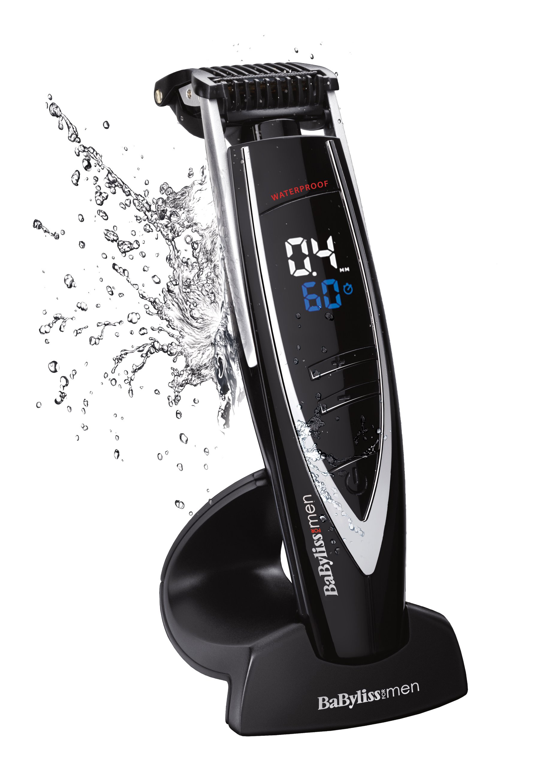 Babyliss E880E Tondeuse Barbe i-Control Batterie Ion-Lithium product image