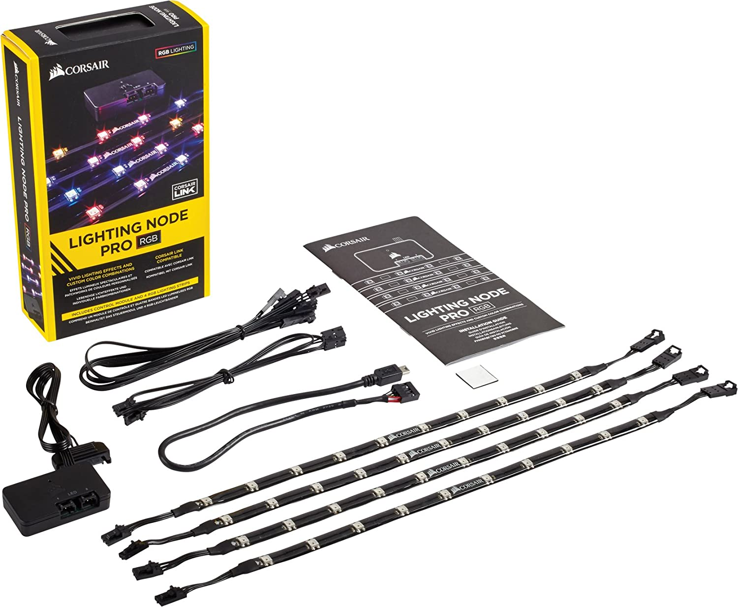 Corsair Icue Lighting Node Pro Controlador Iluminacion Rgb