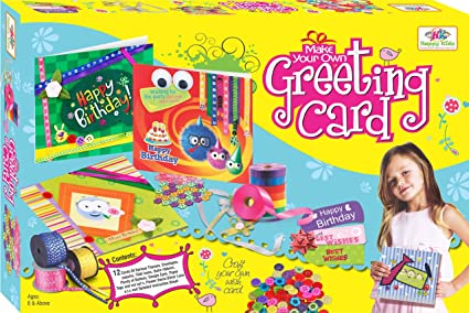 Buy Art Craft Toys Greeting Card For Kids Art Craft Kits Online At