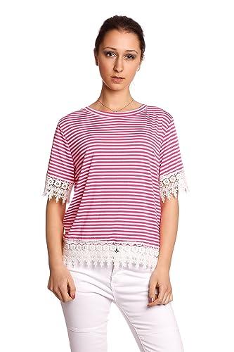 Abbino IG005 Shirts Tops Camisas para Mujer - Hecho en Italia - Colores Variados - Moderno Transició...