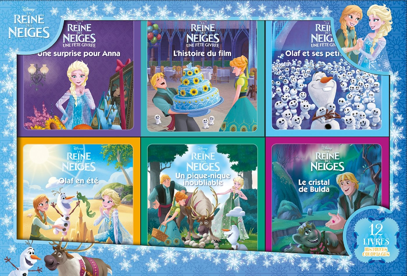 f26de1b5c6 Disney - La Reine des Neiges - Coffret 12 Livres: Amazon.fr: Hachette  Jeunesse, Emmanuelle Caussé: Livres