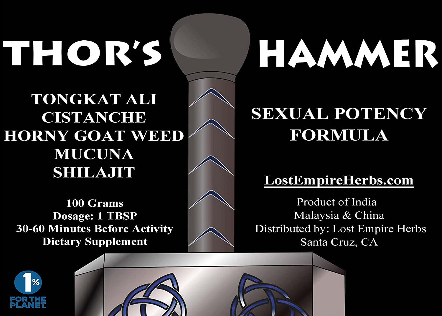 Thors hammer sexual potency formula