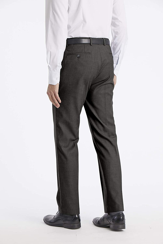 Calvin Klein Mens X Performance Slim Fit Flat Front Dress Pant