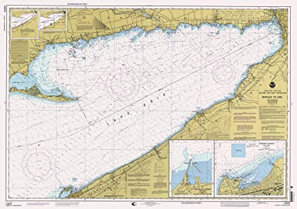 Amazon Com Historic Map Buffalo To Erie 1998 Nautical Noaa Chart