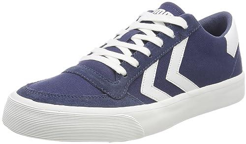 Hummel Stadil RMX Low, Zapatillas Unisex Adulto, Azul (Vintage Indigo 8588), 38 EU: Amazon.es: Zapatos y complementos