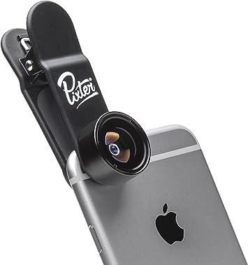 Pixter Fisheye Premium Smartphone Lens [Inicio francés]: Amazon.es ...