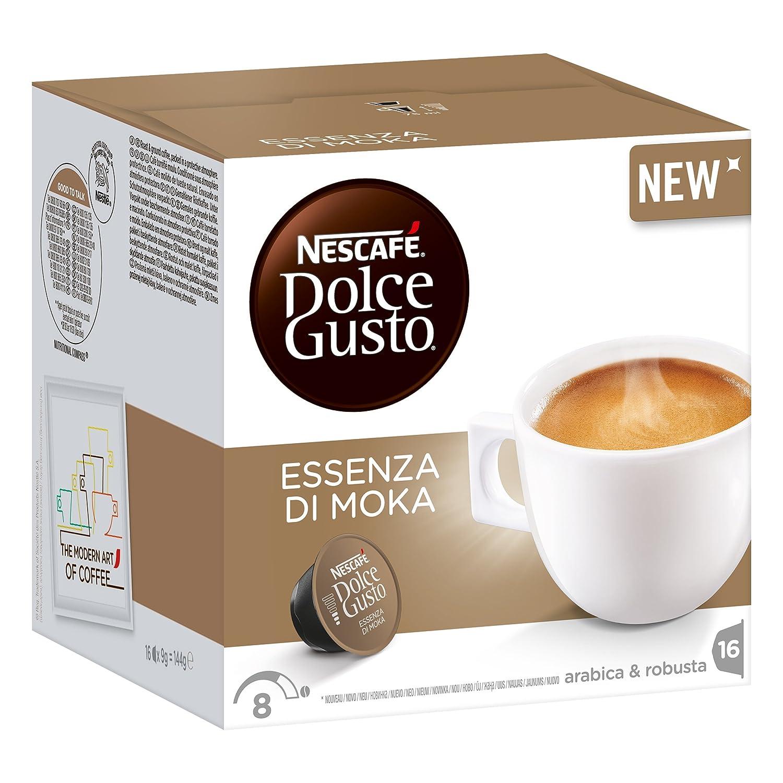 Nescafé Dolce Gusto Essenza de Moka, Café, Espresso, 3 Paquetes x 16 Cápsulas: Amazon.es: Hogar