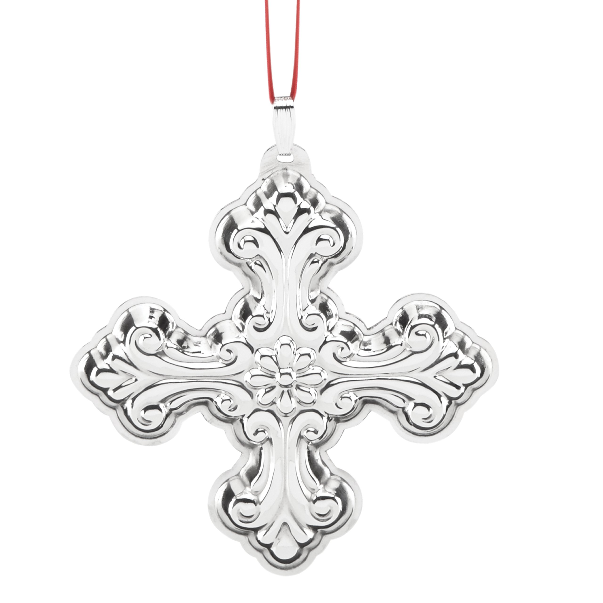 Reed & Barton Annual Cross Ornament by Reed & Barton