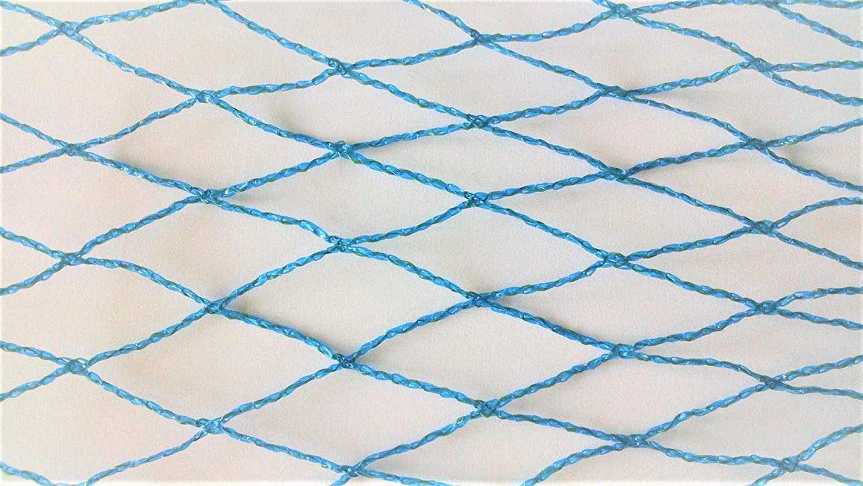 AGROFLOR - Rete di Protezione dagli Uccelli, Larghezza Maglie  30 mm, Blu