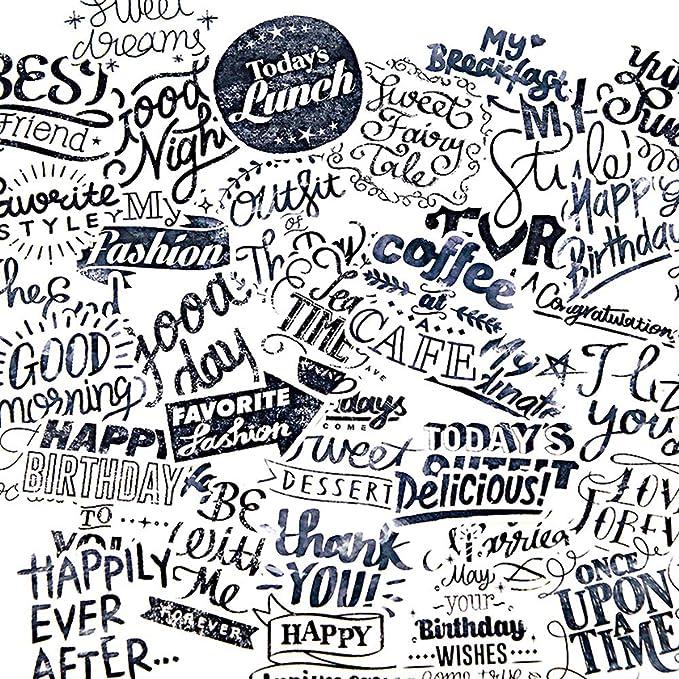 Amazon.com: 40 piezas de frases para dictar frases ...