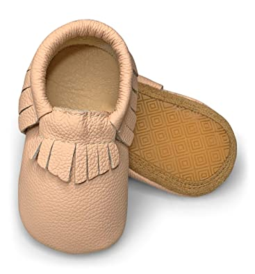 Amazon Com Lucky Love Baby Moccasins Premium Leather Infant