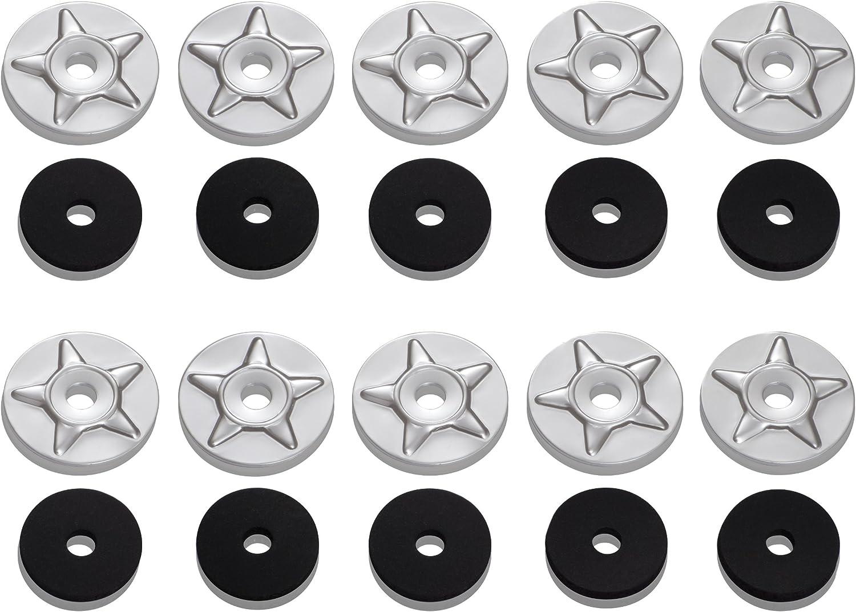 Show Chrome Starwashers 4pk 4-231R-4