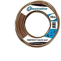 Electraline 10941, Cable para Extensiones H03VVH2-F, Sección 2x0,75
