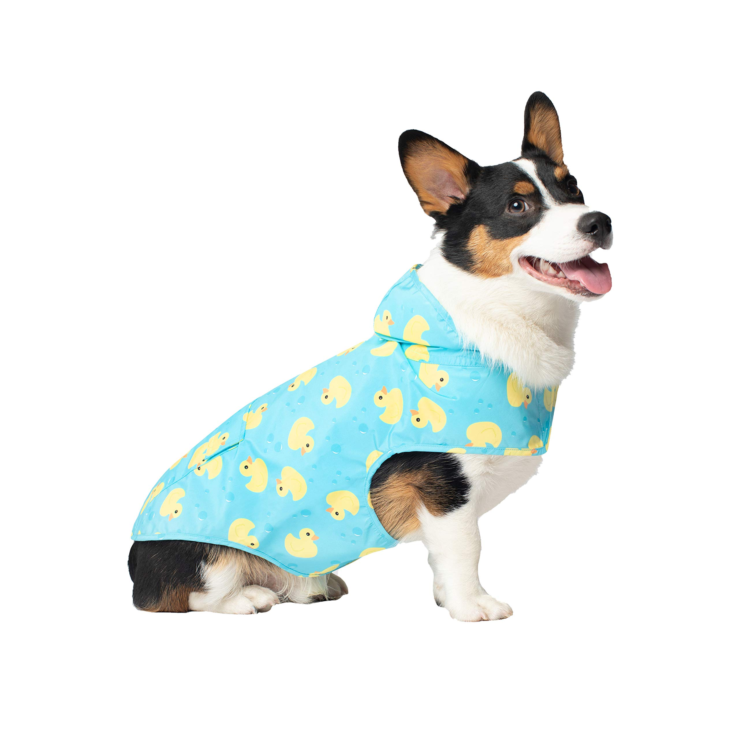 Canada Pooch Pick Me Poncho, Rubber Ducks, 24 Inches by Canada Pooch