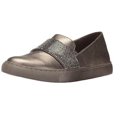 Kenneth Cole REACTION Women's Kam Slip Mini Jewel Strap Accent Metallic Fashion Sneaker | Fashion Sneakers