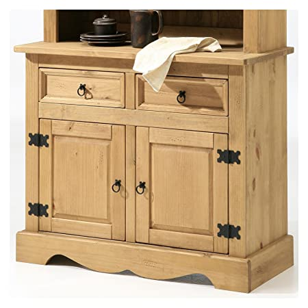 Mexico Mobel Tequila 2 Door Cabinet Buffet In Mexican Style Solid