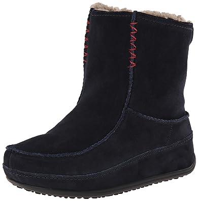 FitFlop Mukluk Shorty 2 Boots, Bottes Classiques FemmeNoir (All Black), 36