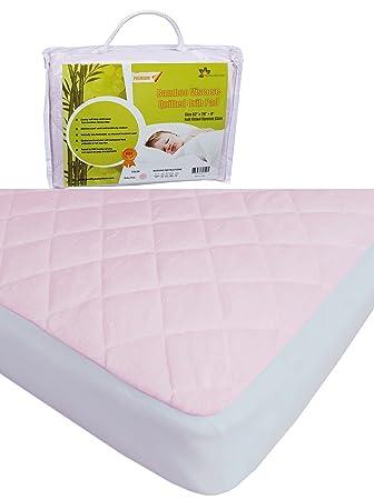 Amazon.: Bamboo Waterproof Crib Mattress Pad Thick ♢ Perfect