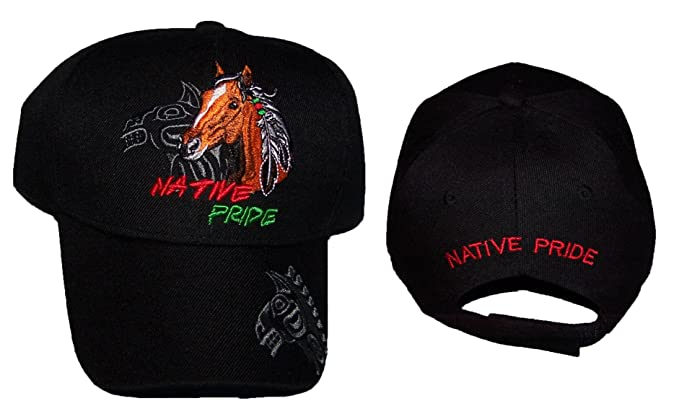 27f94dae8 Wolf Feather Native Pride Baseball Caps Hats Embroidered (ACapNp665 ...