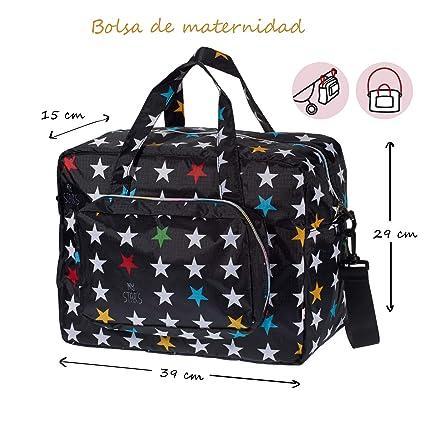 My Bags Bolso Maternidad de Tejido de Nylon Acoplable en Silla de ...