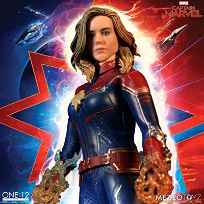 Captain Marvel Movie One:12 Collective Action Figure: Toys & Games