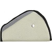 Cubierta de cinturón de seguridad para niños - Protección para niños en el auto (Blanco)