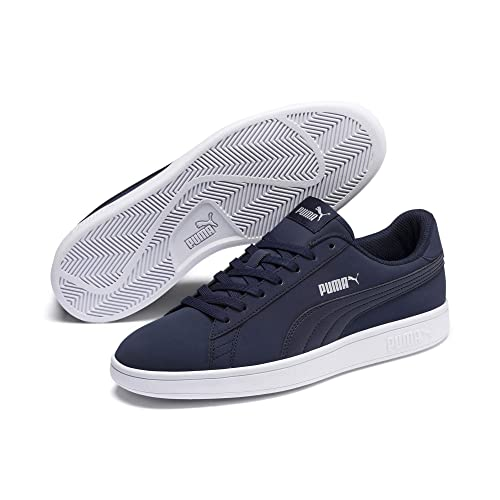 Herren|Damen Sneakers | Puma Smash v2 Buck Sneaker Puma Black Bridal Rose White