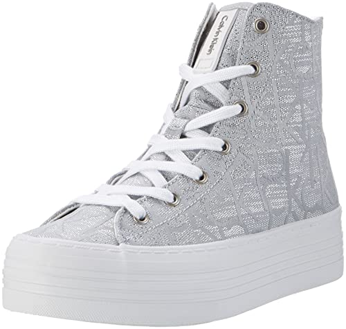 Free Shipping Cheap Sast Womens Zabrina Metallic Jacquard High Sneaker Calvin Klein Jeans Clearance Best Place Cheap New Arrival Discount High Quality oRf5gE7HF