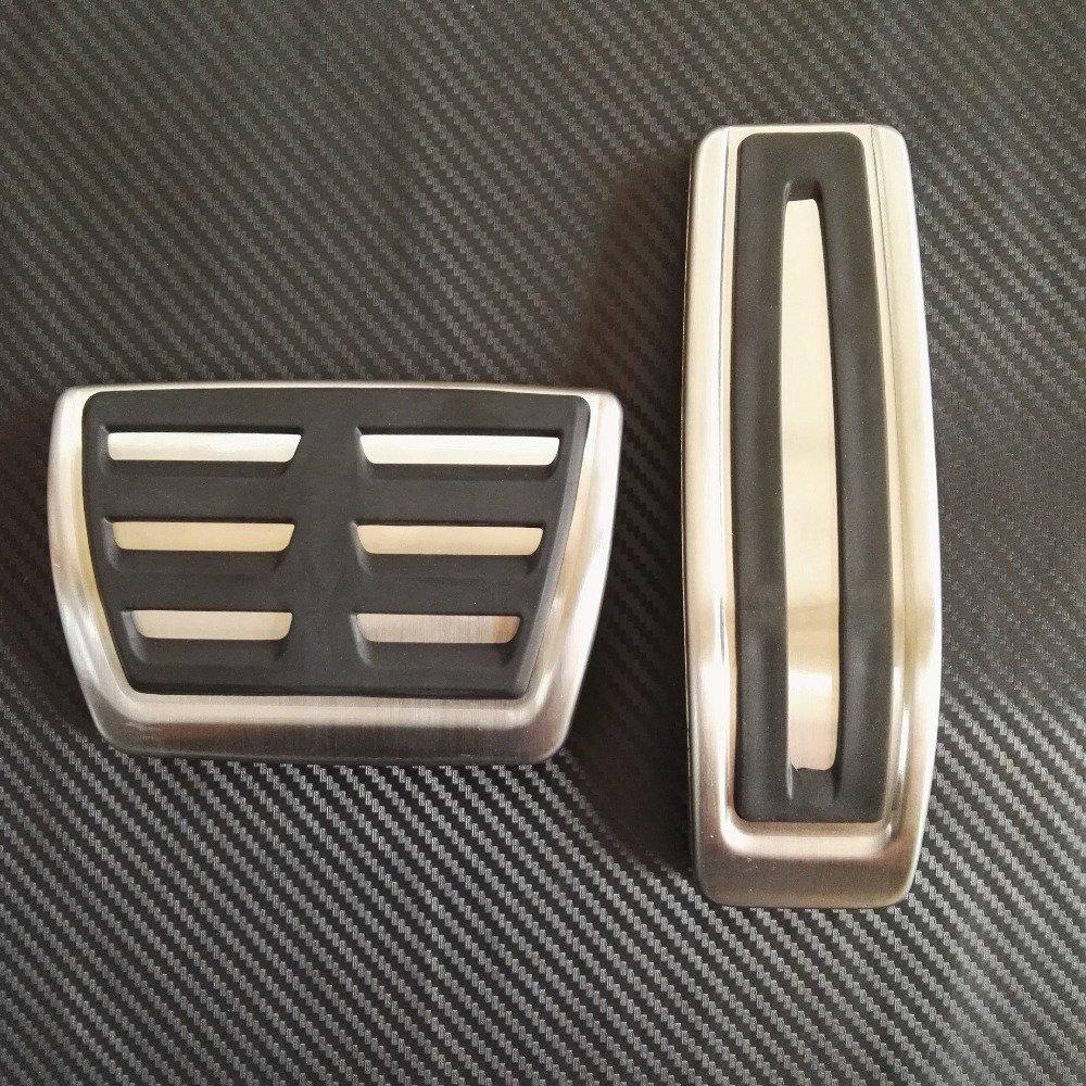 Cfcool Car-styling à gaz en acier inoxydable de frein Pédale Repose-pieds Coque à coque CFCOOL-EU