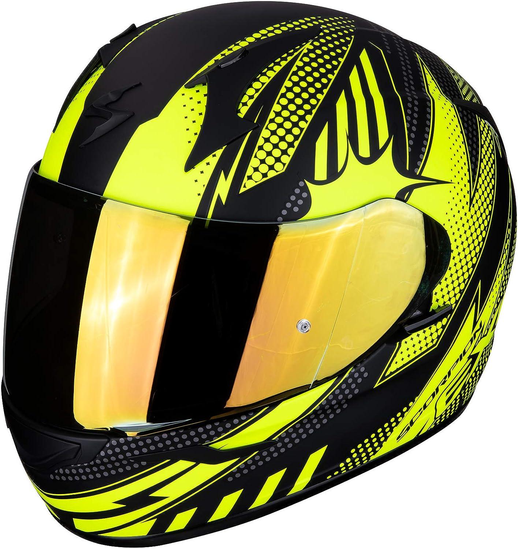 Schwarz//Rot Scorpion Motorradhelm EXO-R1 AIR OGI Black-Red L