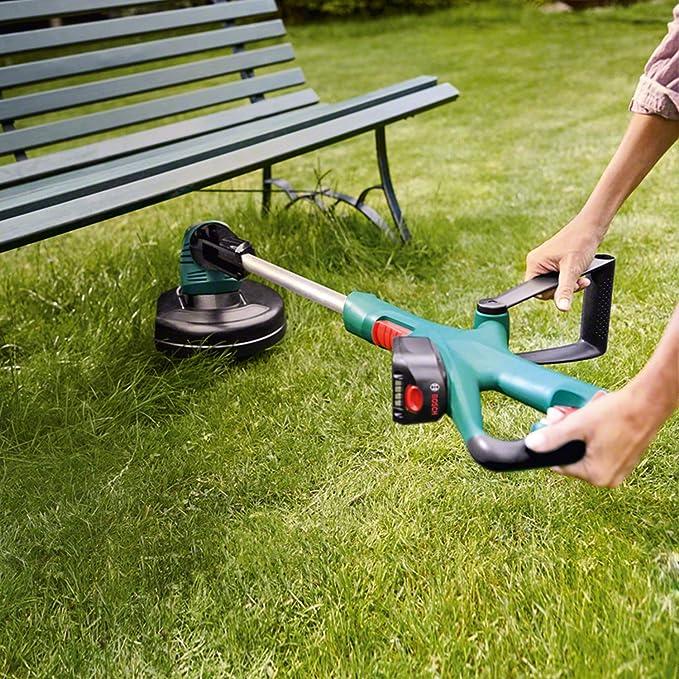 Bosch ART 26 18 LI - Cortacésped (2.5 kg, 1h, 18V, Lithium-ion) Verde: Amazon.es: Bricolaje y herramientas
