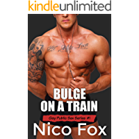 Bulge on a Train: A Gay Public Sex Story (Gay Public Sex Series Book 1) book cover