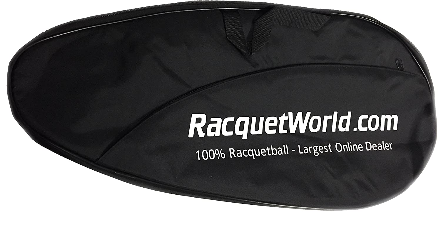 """Deluxe"" Full Size Racquetball Racquet Cover w/ Pocket Python Racquetball"