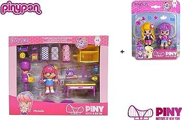 Amazon.es: Famosa PinyPon - Pack Pinypon Clase de Costura Michelle ...